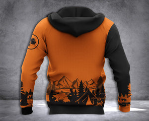 DH CAMPING PUN HOODIE ALL OVER PRINT