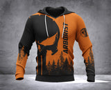 DH ARBORIST SMILE BACK PUN HOODIE ALL OVER PRINT