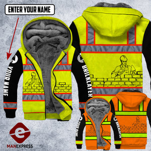 DH CUSTOMIZED BRICKLAYER SAFETY  HOODIE ALL OVER PRINT