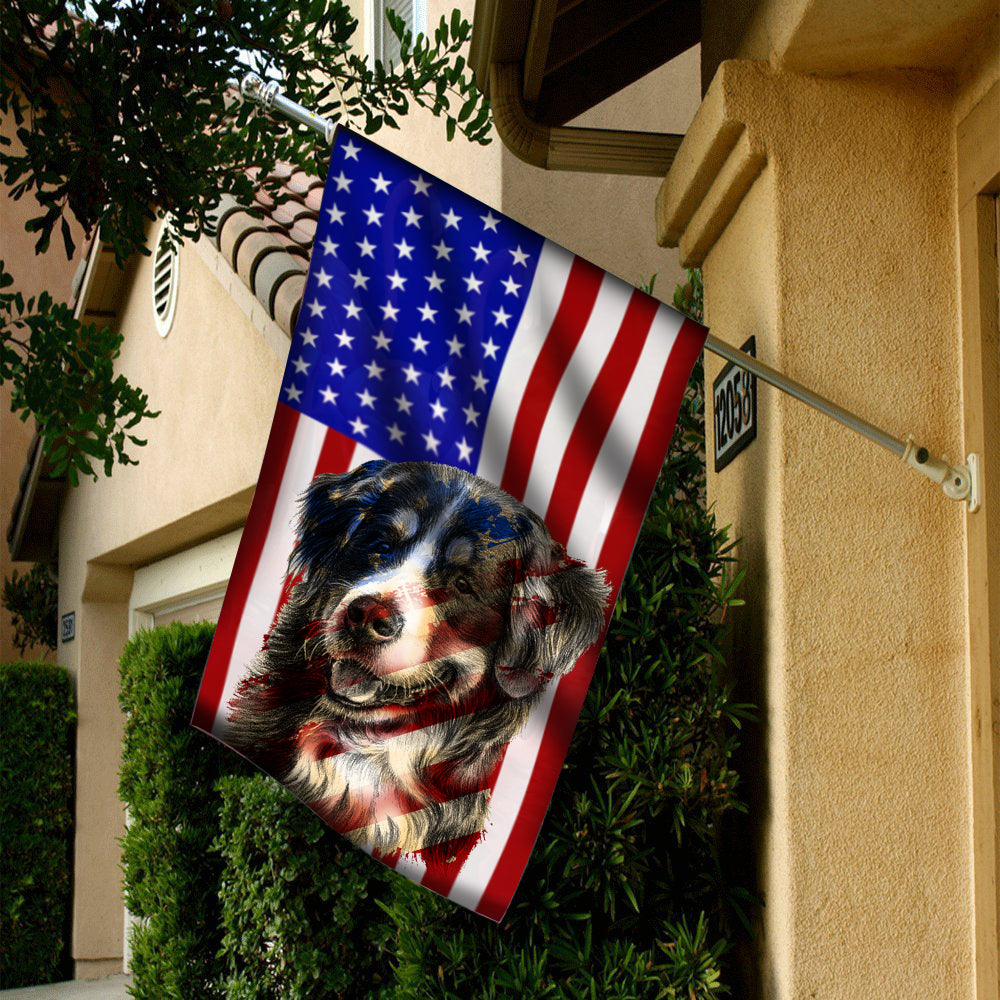 Flag Bernese Mountain 4July