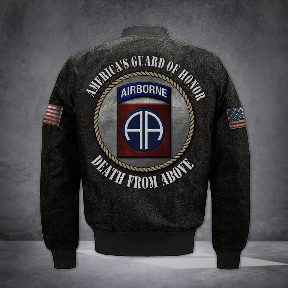 CUSTOMIZE 82ND AIRBORNE BOMBER LIMITED EDITION