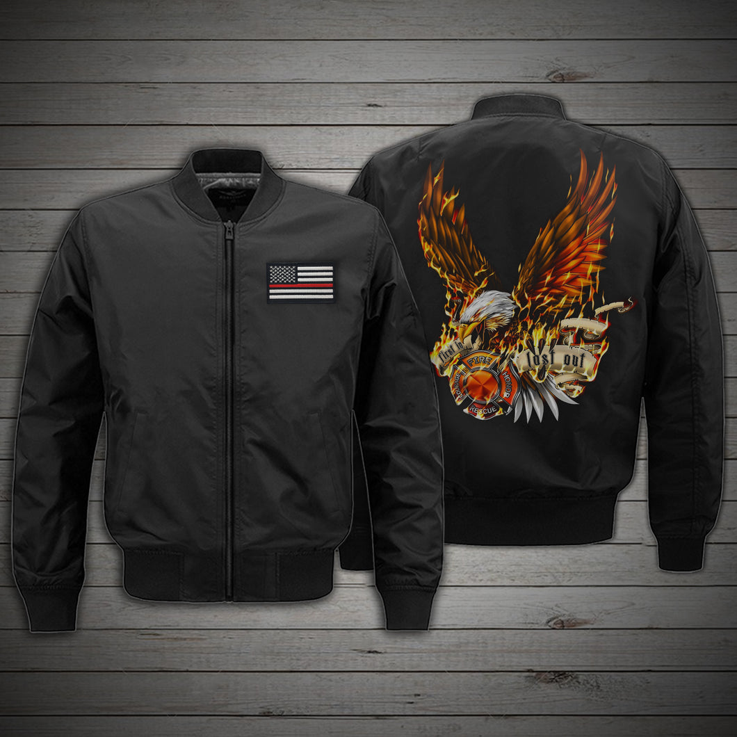 US Firefighter - BOMBER JACKET