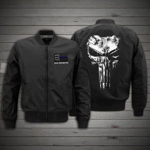 North Carolina Blue line - BOMBER JACKET