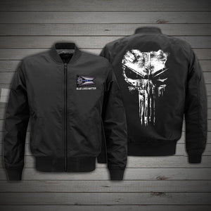 OHIO Blue Line - BOMBER JACKET