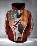 Boston Terrier 3D printed hoodie FTM