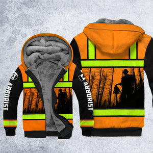 DH CANADA ARBORIST SAFETY HOODIE ALL OVER PRINT