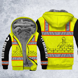 DH CANADA BRICKLAYER SAFETY HOODIE ALL OVER PRINT