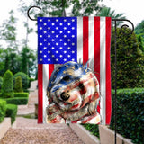 Flag GARDEN Coton de Tulear 4July
