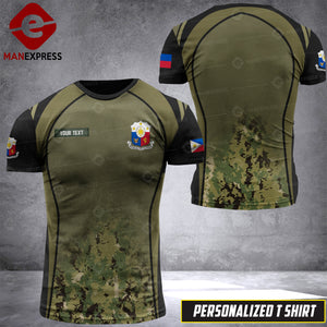 MH 2109 PHILIPPINES CAMO T-SHIRT PRINTED