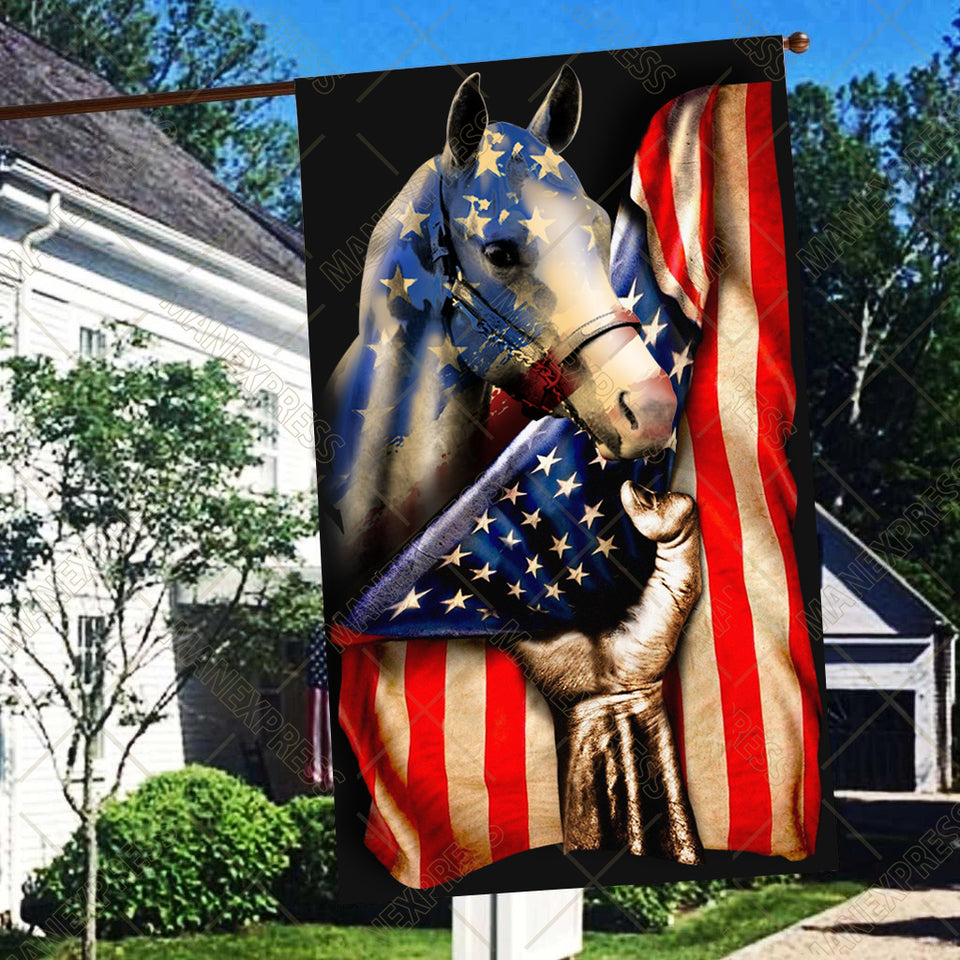 LMT Flag american paint horse