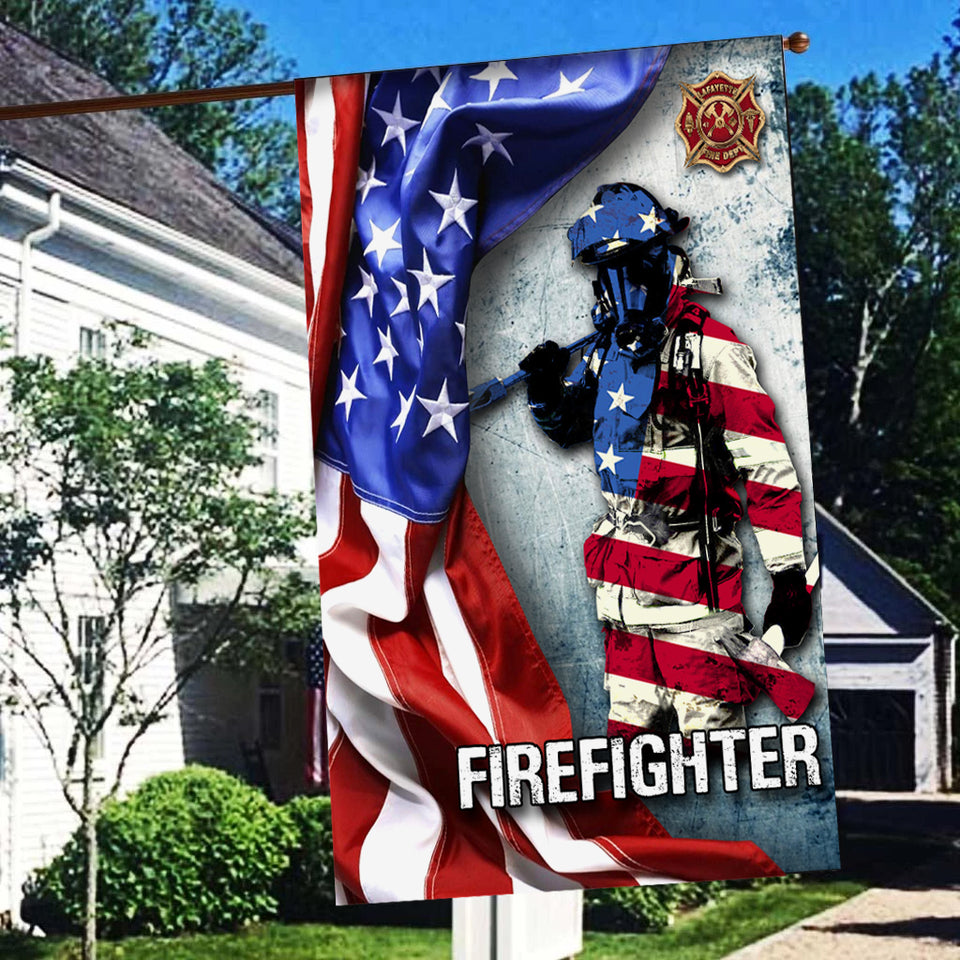 TT Flag Firefighter