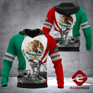 MTP roofer mexico HOODIE 3D neww