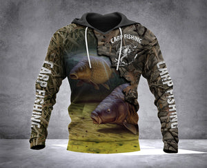 VH CARP FISHING CAMO 2 HOODIE 3D ALL PRINT