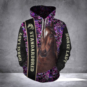 Horse Standardbred MK Limited Edition Hoodie