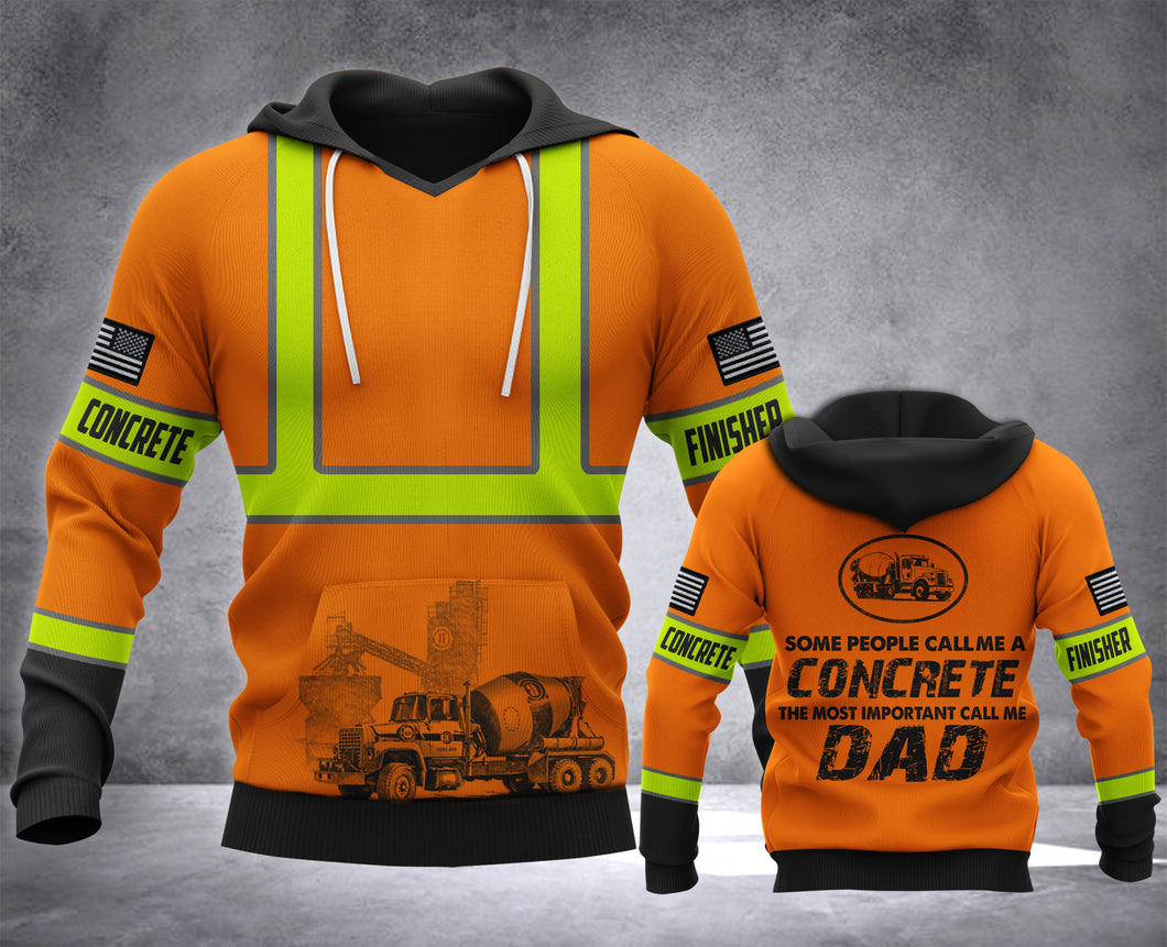 DAD CONCRETE USA MT HOODIE