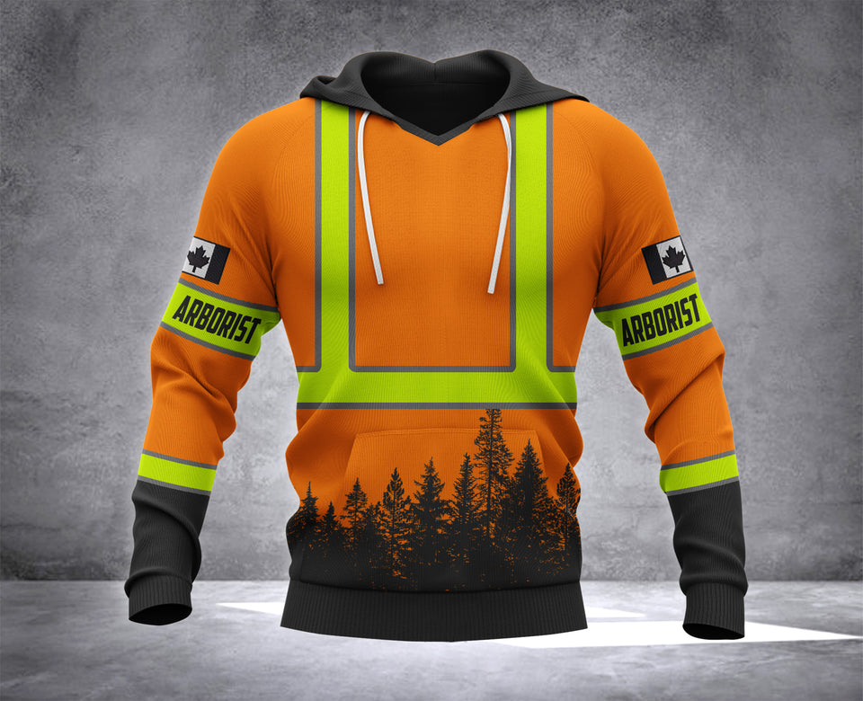 CANADA ARBORIST MT 3d ALL OVER PRINTED HOODIE