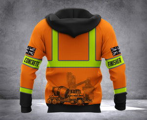 UK CONCRETE FINISHER MT HOODIE
