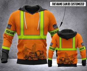 CUSTOMIZED CONCRETE FINISHER TIP MT HOODIE