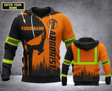 CUSTOMIZED ARBORIST MT 3D PRINT HOODIE