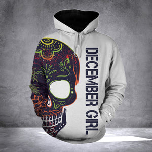 DECEMBER GIRL WITH TATTOOS  HOODIE v2