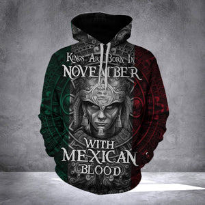 King Mexican November HOODIE