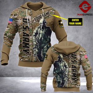 Personalized Warrior 3D printed hoodie ARMW ALW