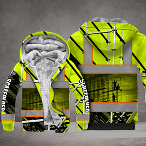 VH SCAFFOLDER FLEECE HOODIE 3D ALL OVER PRINT