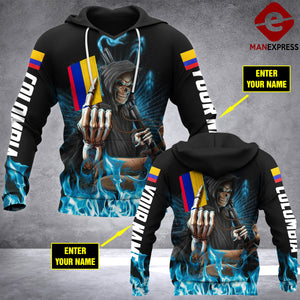 VH CUSTOMIZE COLOMBIA 1612 3D ALL PRINT HOODIE
