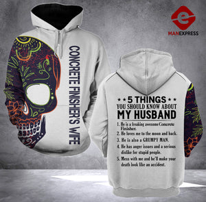 MT CONCRETE FINISHER WIFE HOODIE