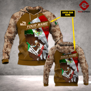 MTP CUSTOMIZE ROOFER MEXICO PATRIOT HOODIE 3D