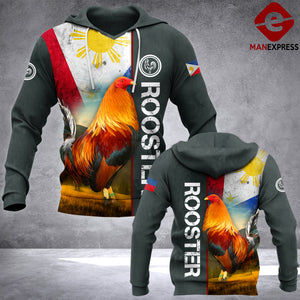 Philippines Rooster 3D printed hoodie HEW Chicken