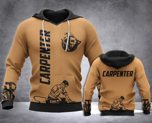 Carpenter 3D all over printed hoodie WHJ