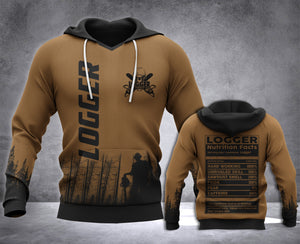 Logger Nutrition 3D all over printed hoodie WHJ