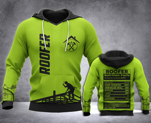 Roofer Nutrition all over printed hoodie WHJ