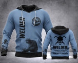Welder Definition 3D all over printed hoodie WHJ