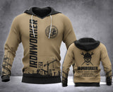 Ironworker Definition 3D all over printed hoodie WHJ