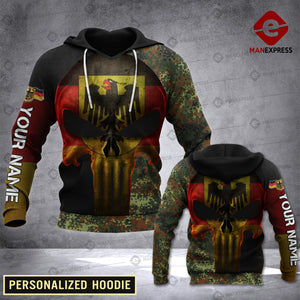 MTP CUSTOMIZE GERMAN ARMY CAMO HOODIE 3D