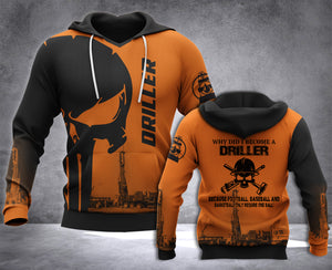 DH DRILLER BALL PUN HOODIE ALL OVER RINT