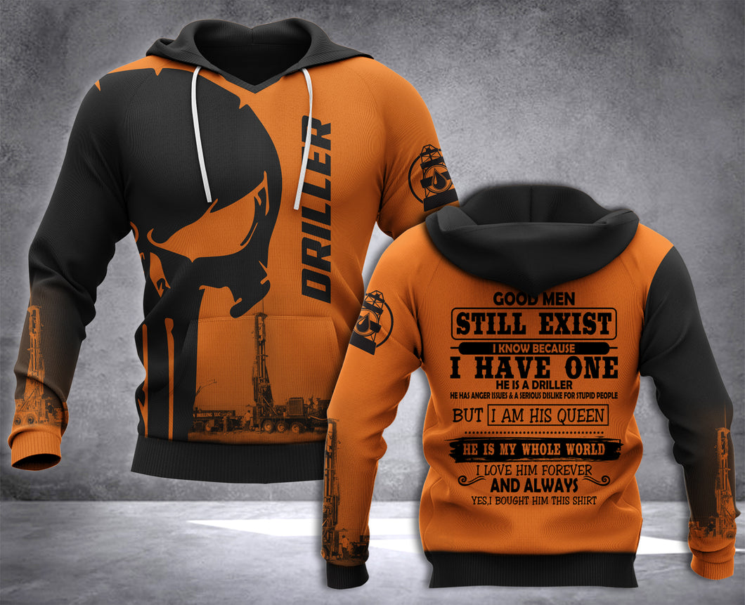 DH DRILLER GOOD PUN HOODIE ALL OVER RINT