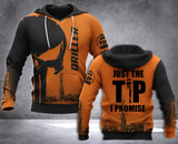 DH DRILLER TIP PUN HOODIE ALL OVER RINT