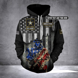 CUSTOMIZE US ARMY HOODIE LIMITED EDITION