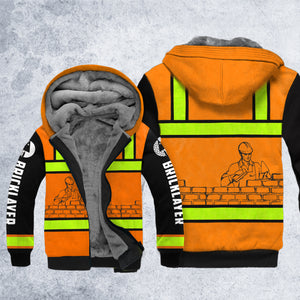 DH BRICKLAYER SAFETY HOODIE ALL OVER PRINT