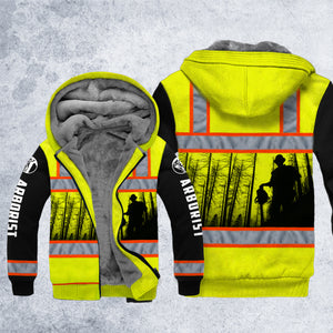 DH ARBORIST SAFETY HOODIE ALL OVER PRINT