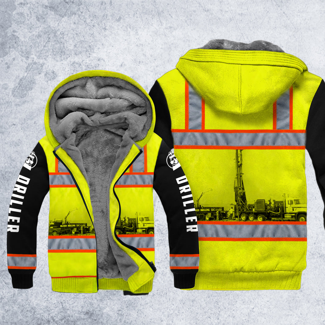 DH DRILLER SAFETY HOODIE ALL OVER PRINT