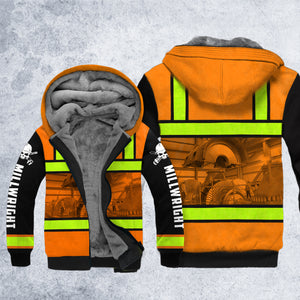DH MILLWRIGHT SAFETY HOODIE ALL OVER PRINT