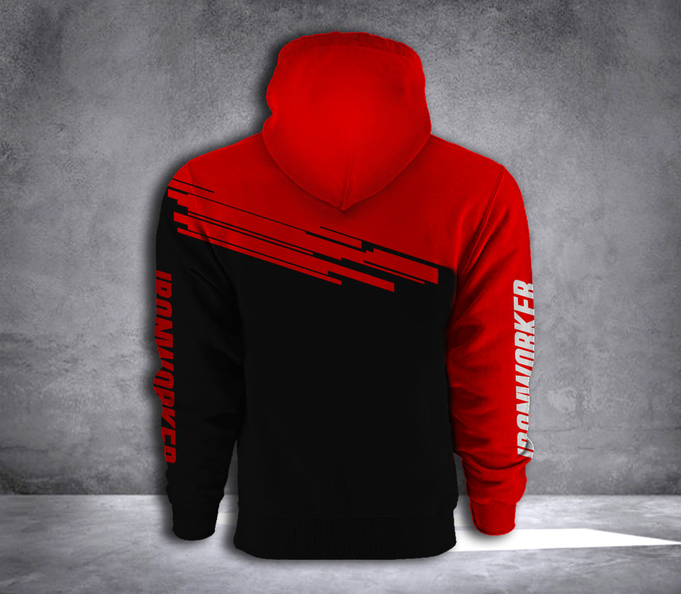 IRONWORKER 3D ALL OVER PRINT HOODIE