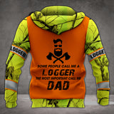 VH LOGGER DAD 3D ALL PRINT HOODIE
