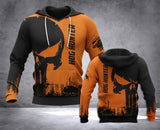DH HOG HUNTING PUN HOODIE ALL OVER PRINT