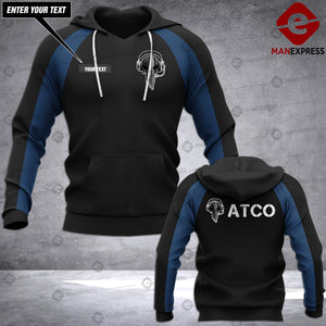 AH PERSONALIZED Air traffic controller - ATCO HOODIE PRINTED