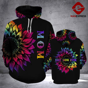 LKH BEST MOM EVER HOODIE 3D PRINT HVQ0405
